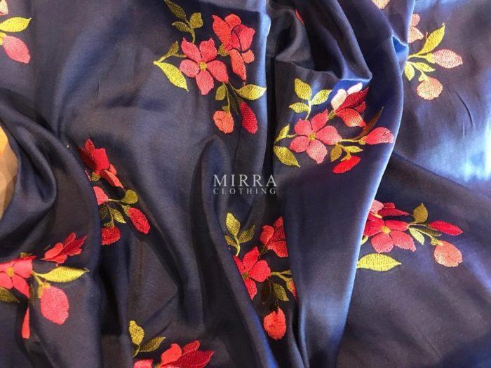 Designer Silk Blend Saree