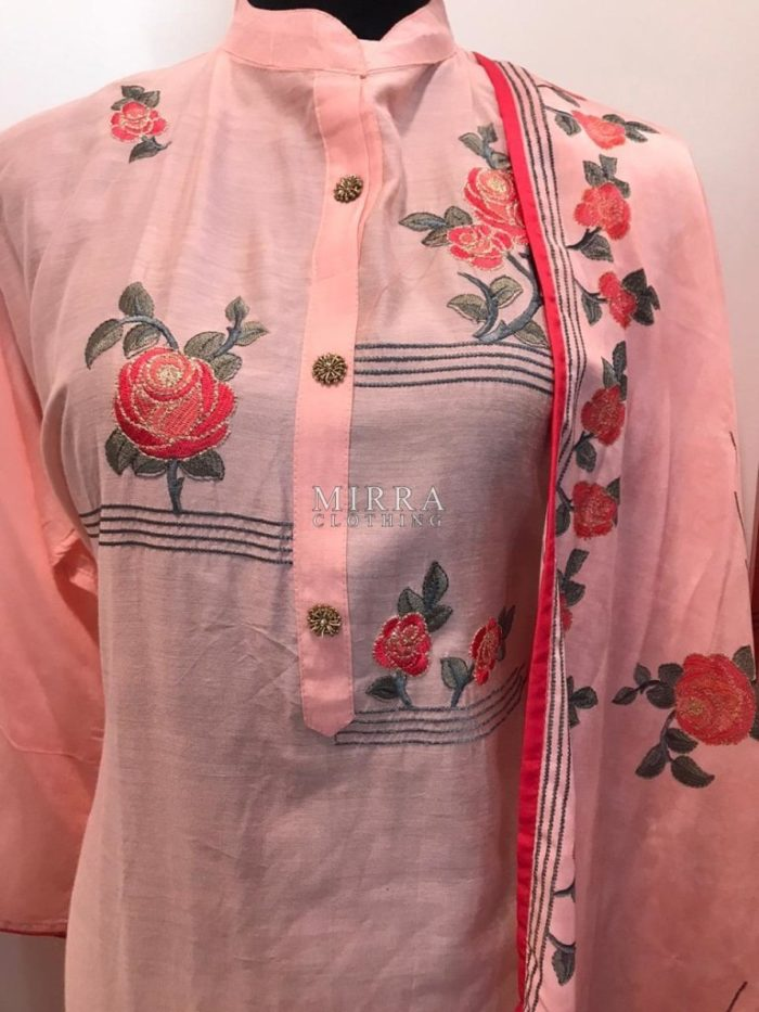 Silk Blend Salwar Suit