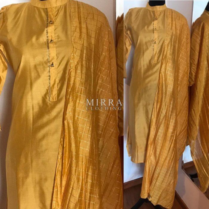 Silk Salwar Suit