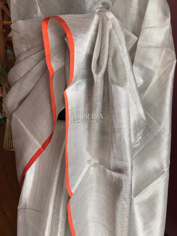 Soft Linen Tissue Silk Saree