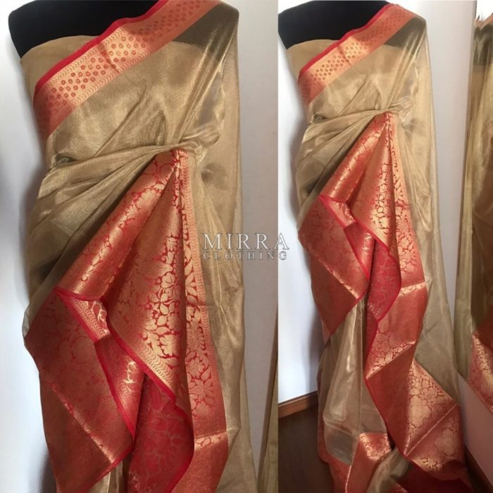Pure Kota Tissue Silk Saree