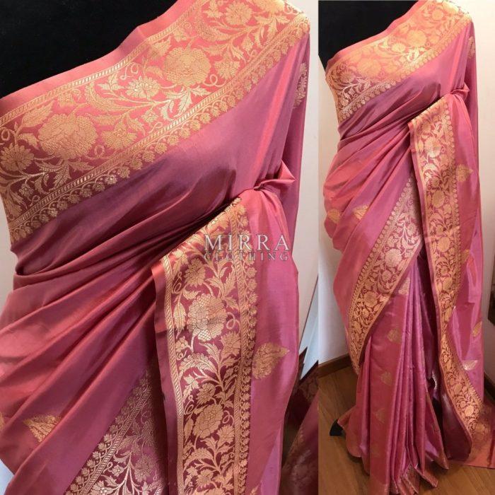 Pure Banarasi Katan Silk Saree