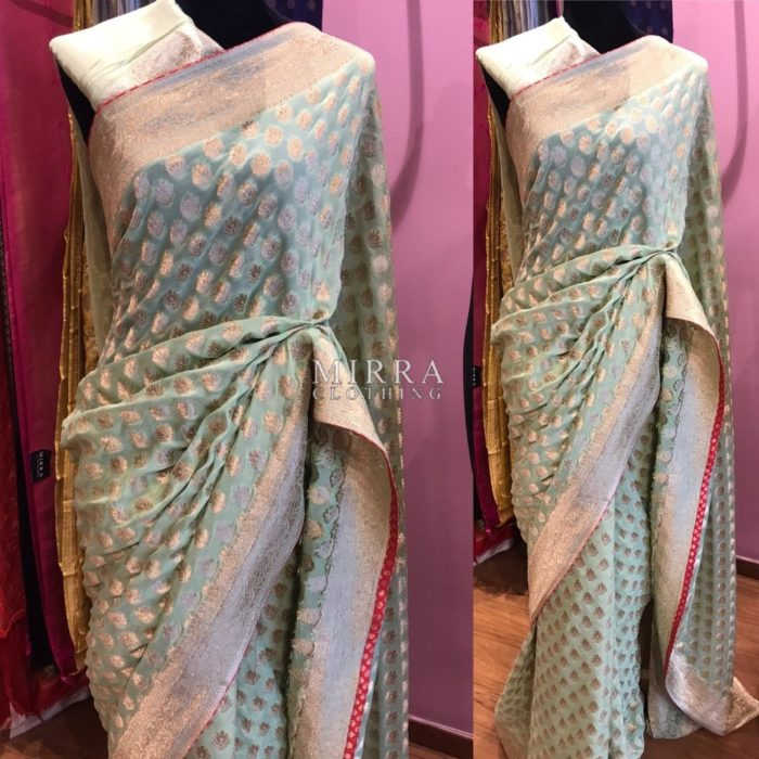 Banarasi Pure Georgette Saree