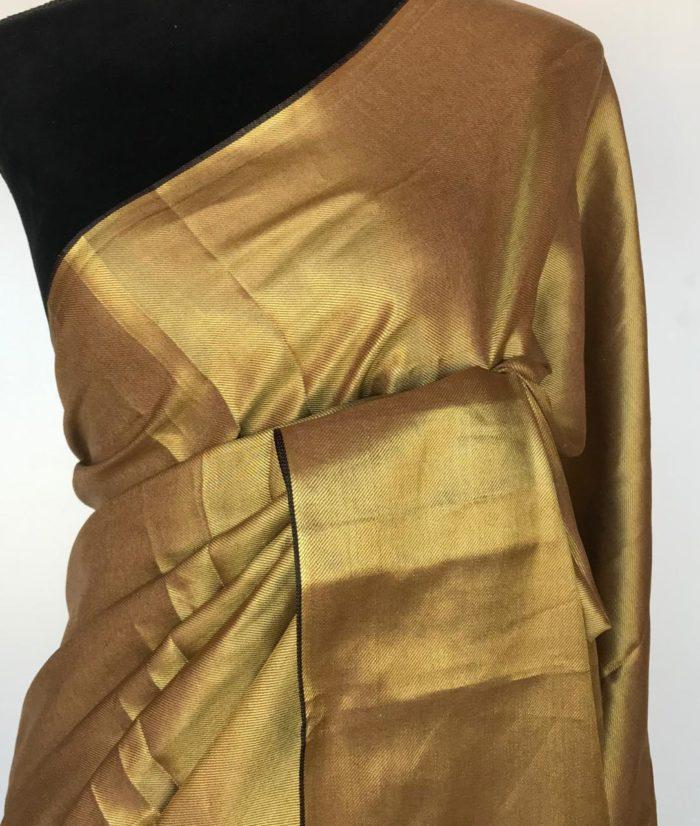 Gold Tissue Silk Saree
