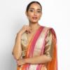 Gold Chanderi Silk Blouse